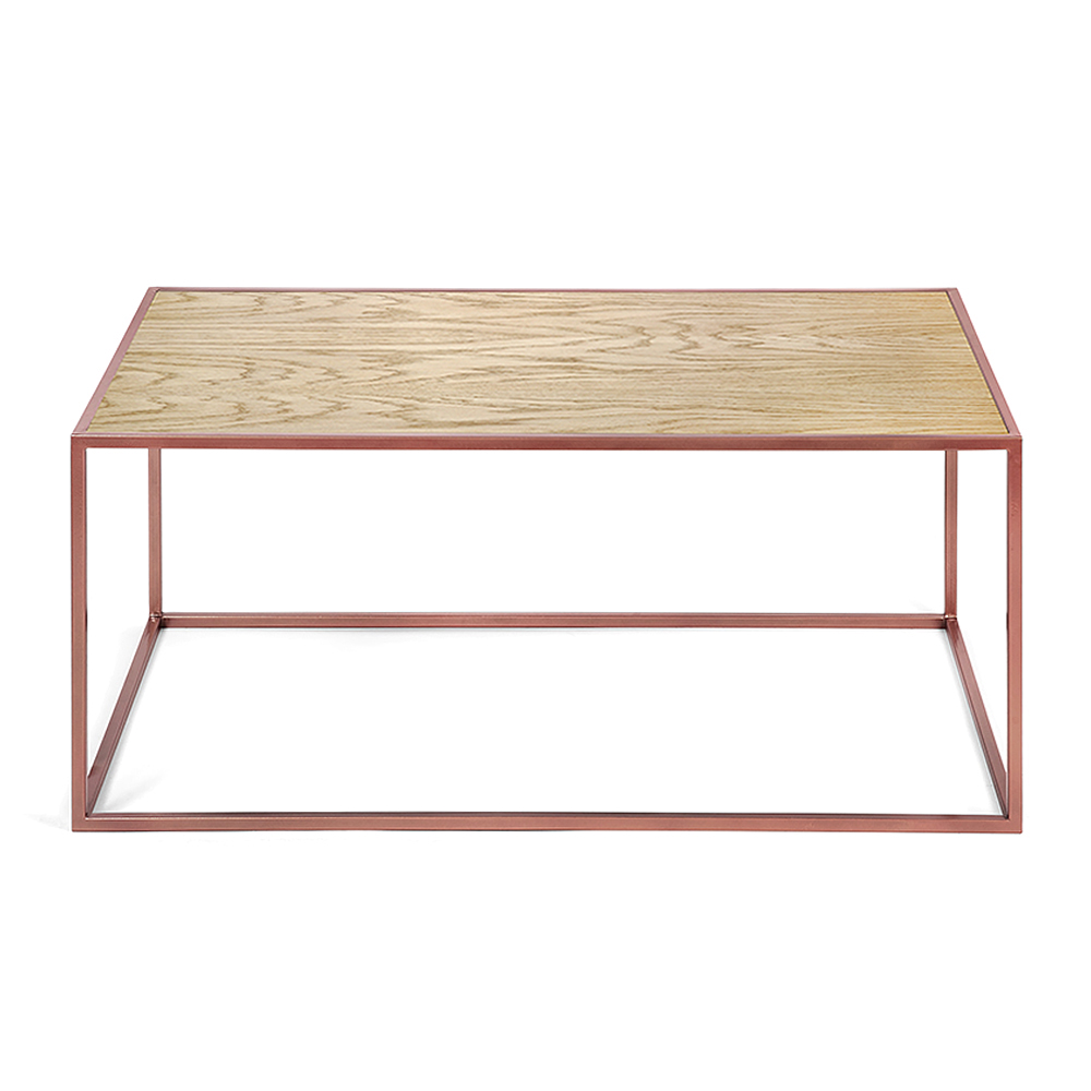Журнальный стол London copper светлый дуб журнальный стол lingard black светлый дуб