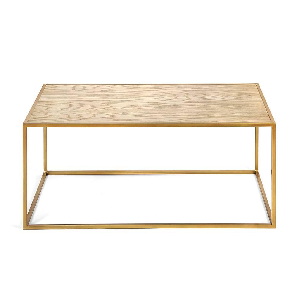 Журнальный стол London gold светлый дуб журнальный стол lingard black светлый дуб