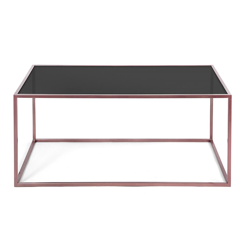 Журнальный стол London copper черное стеклоКофейные столики<br><br><br>stock: 0<br>Высота: 38<br>Ширина: 60<br>Длина: 100<br>Цвет столешницы: Черное стекло<br>Материал каркаса: Сталь<br>Материал столешницы: Стекло<br>Тип материала каркаса: Металл<br>Тип материала столешницы: Стекло<br>Цвет каркаса: Медный