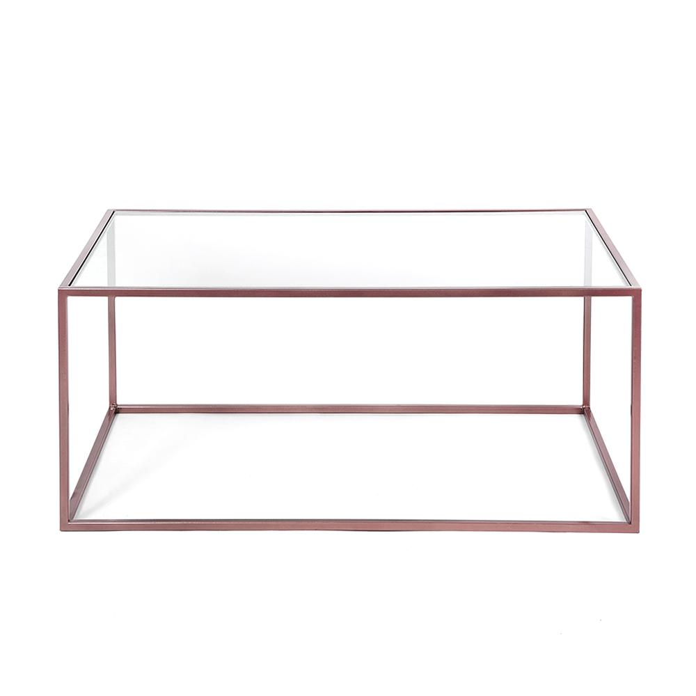 Журнальный стол London copper прозрачное стеклоКофейные столики<br><br><br>stock: 0<br>Высота: 38<br>Ширина: 60<br>Длина: 100<br>Цвет столешницы: Прозрачное стекло<br>Материал каркаса: Сталь<br>Материал столешницы: Стекло<br>Тип материала каркаса: Металл<br>Тип материала столешницы: Стекло<br>Цвет каркаса: Медный