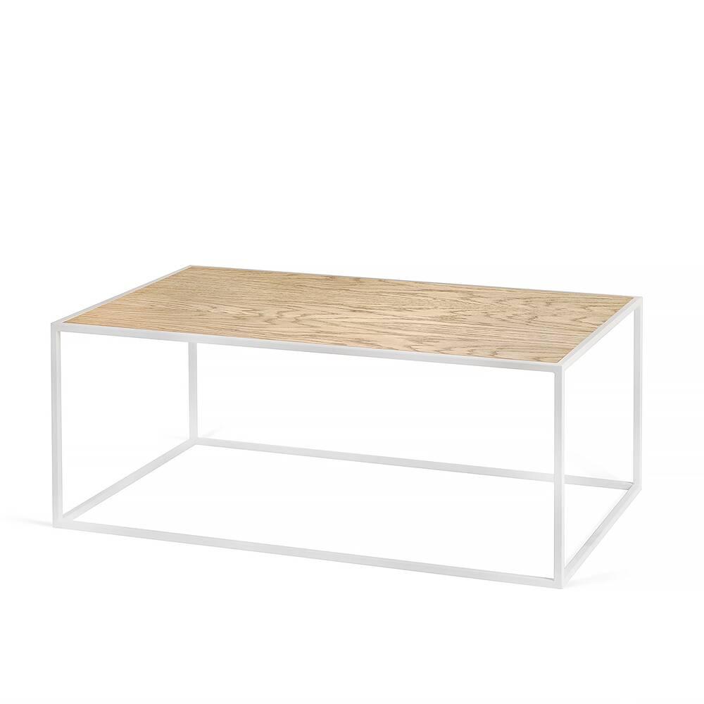 Журнальный стол Darmian into white светлый дуб журнальный стол lingard black светлый дуб