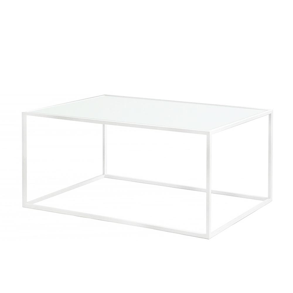 Купить Журнальный стол London white матовое стекло, Intelligent Design