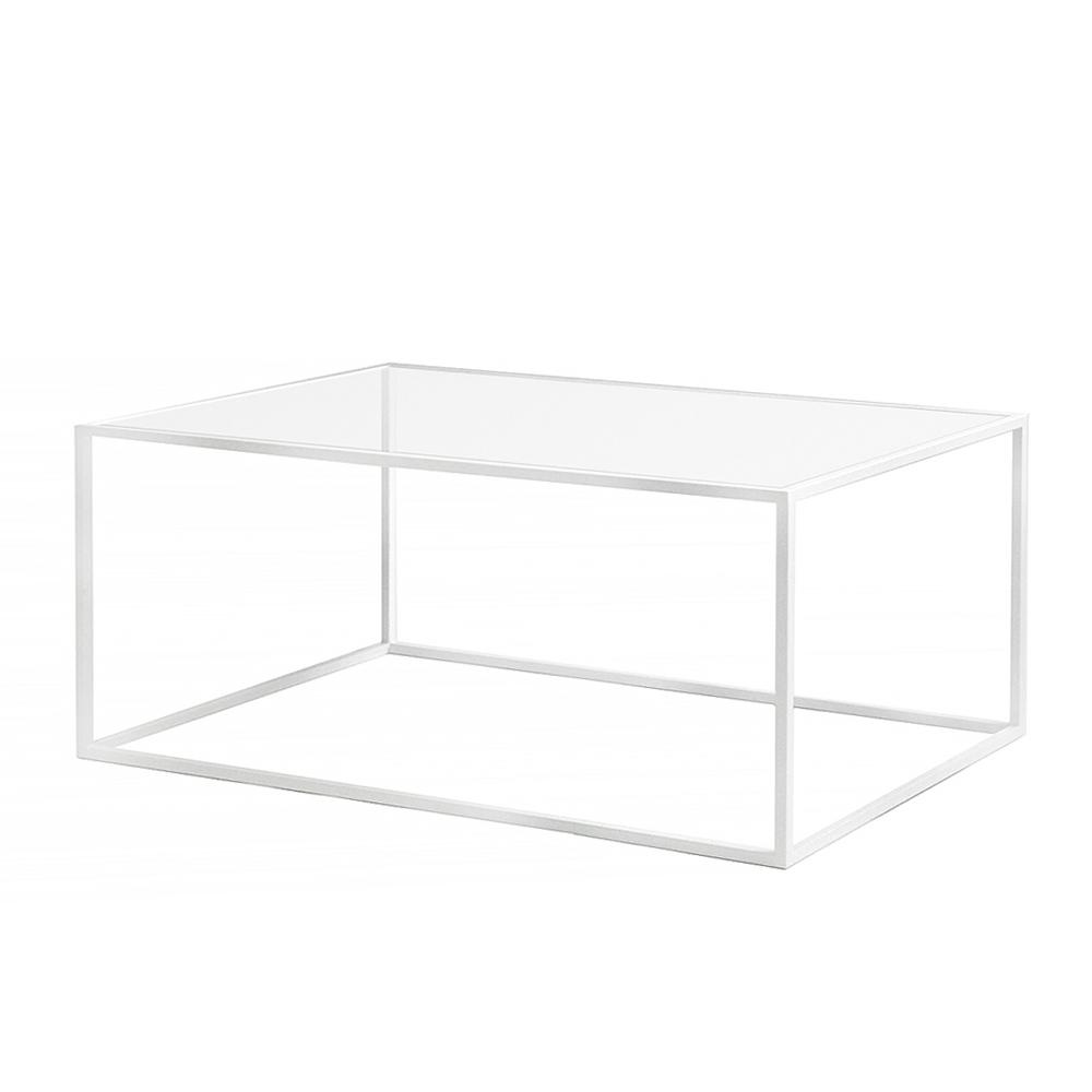 Купить Журнальный стол London white прозрачное стекло, Intelligent Design