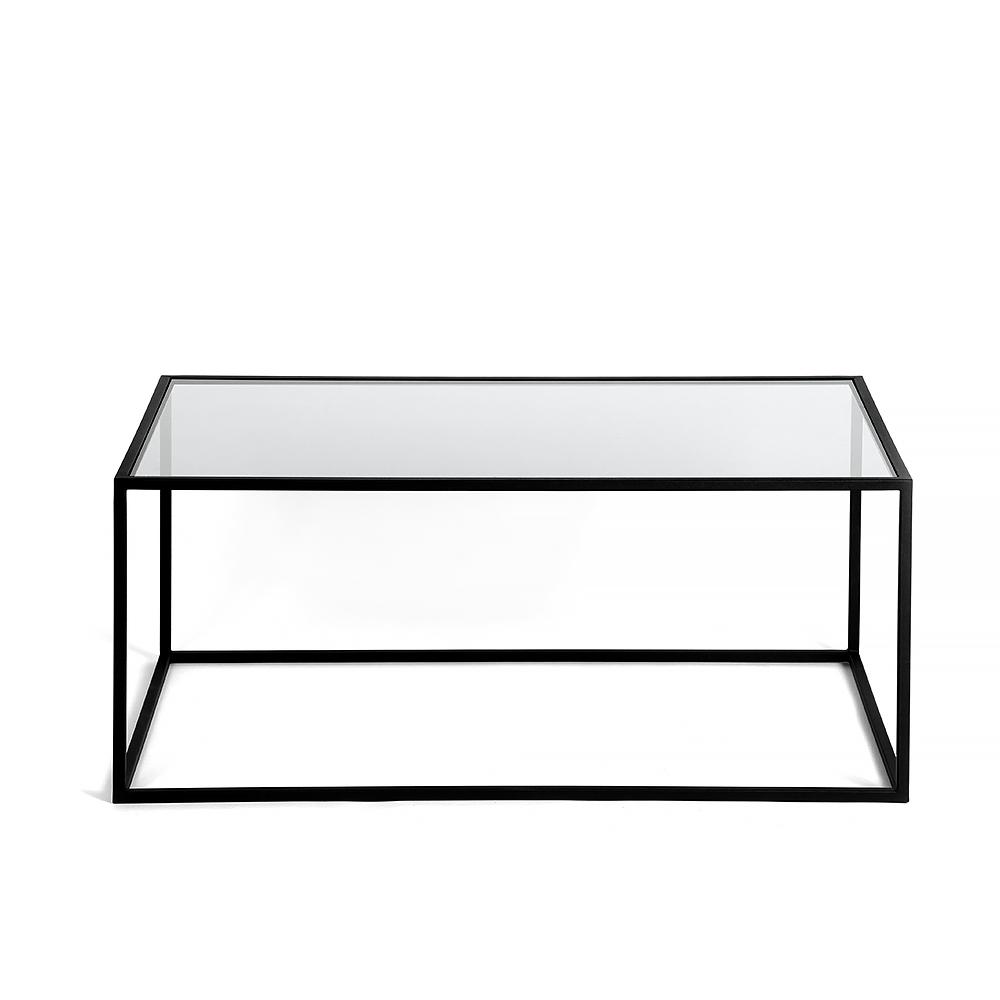 Журнальный стол Darmian into black прозрачное стеклоКофейные столики<br><br><br>stock: 0<br>Высота: 38<br>Ширина: 40<br>Длина: 80<br>Цвет столешницы: Прозрачное стекло<br>Материал каркаса: Сталь<br>Материал столешницы: Стекло<br>Тип материала каркаса: Металл<br>Тип материала столешницы: Стекло<br>Цвет каркаса: Белый