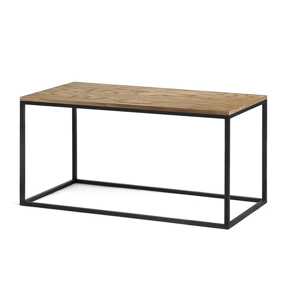 Журнальный стол Darmian black темный дуб журнальный стол lingard black светлый дуб