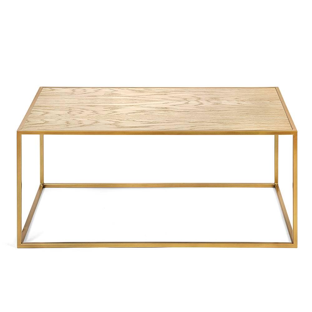 Журнальный стол Darmian into gold светлый дуб журнальный стол lingard black светлый дуб