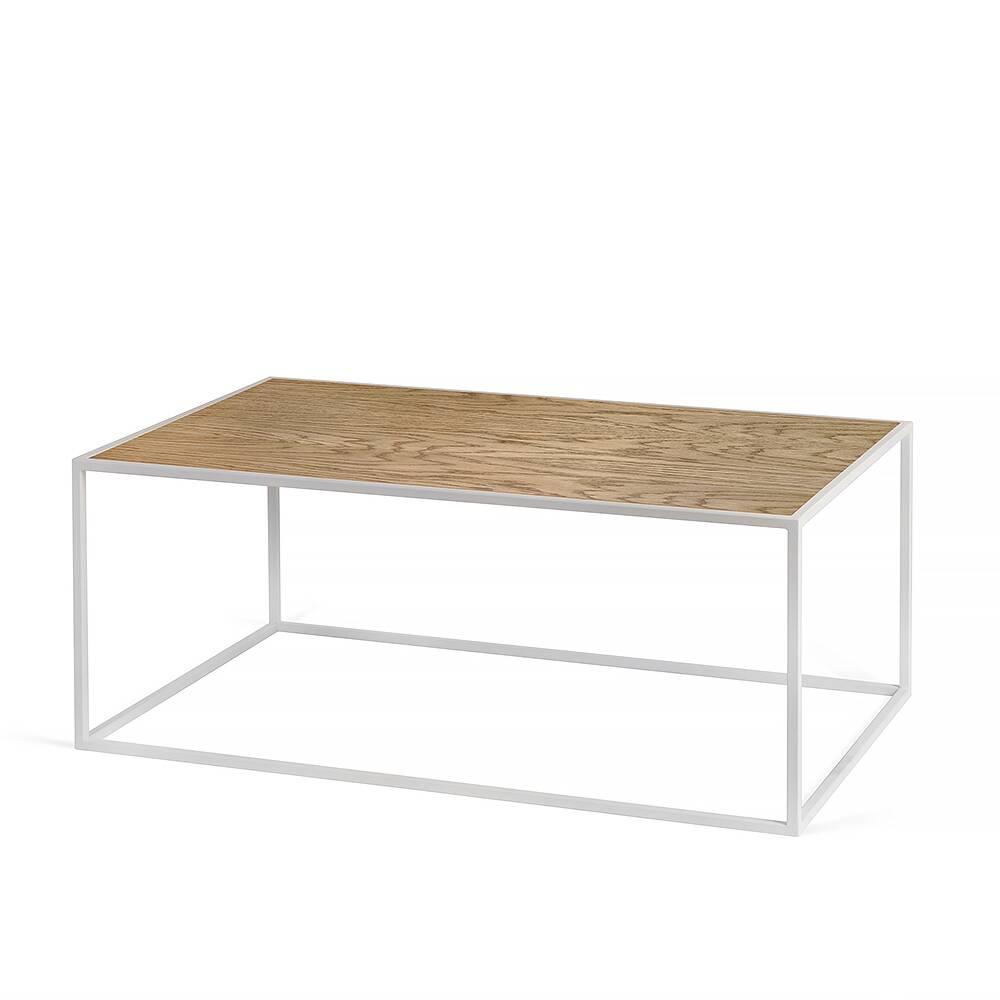 Купить Журнальный стол London white темный дуб, Intelligent Design