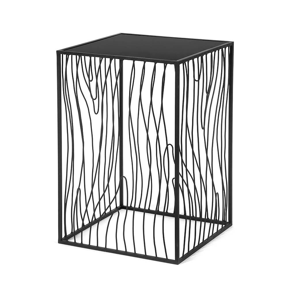 Кофейный столик Poole lite black черное стеклоКофейные столики<br><br><br>stock: 0<br>Высота: 60<br>Ширина: 40<br>Длина: 40<br>Цвет столешницы: Черное стекло<br>Материал каркаса: Сталь<br>Материал столешницы: Стекло<br>Тип материала каркаса: Металл<br>Тип материала столешницы: Стекло<br>Цвет каркаса: Черный