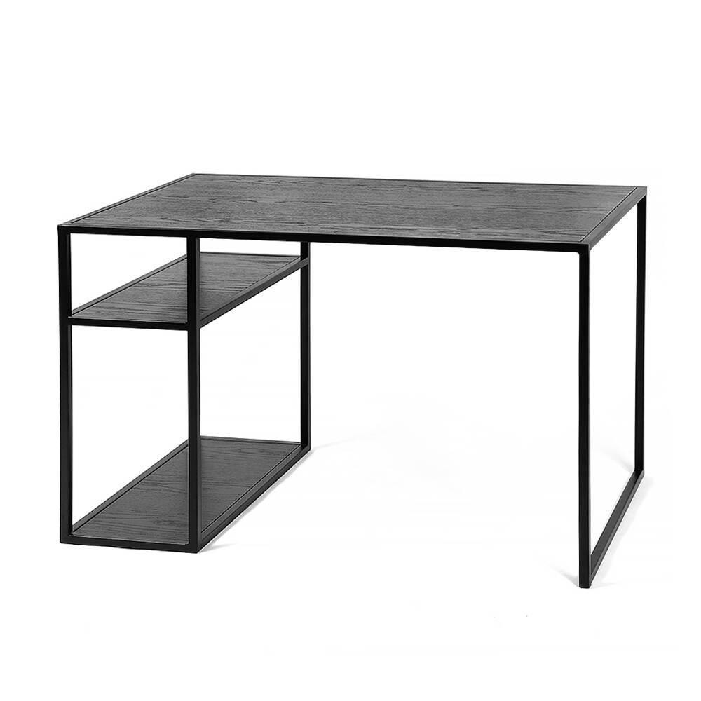 Рабочий стол Romero black черный дуб