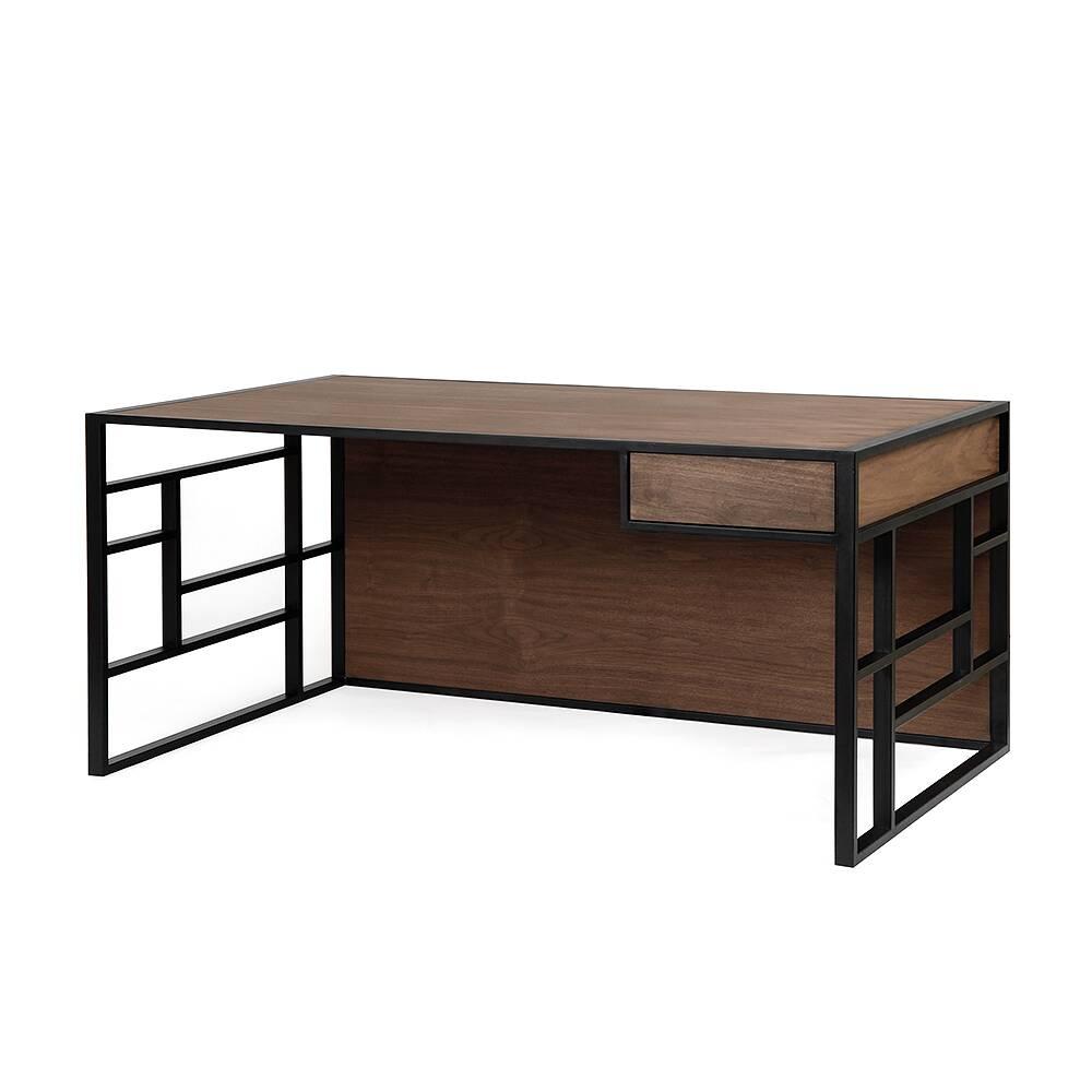Рабочий стол Millenium black американский орех раскройка мебели по индивидуальным чертежам киев купить