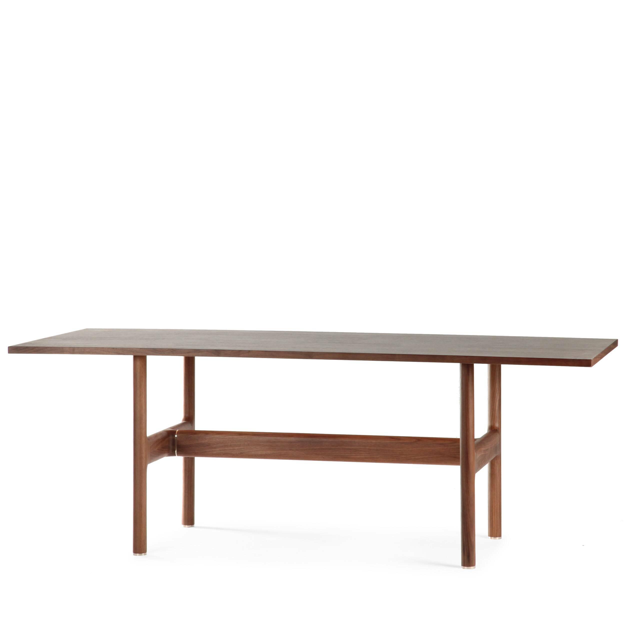 Обеденный стол Trestle стол обеденный опора металл орех монпелье 432903 шатура столы обеденные