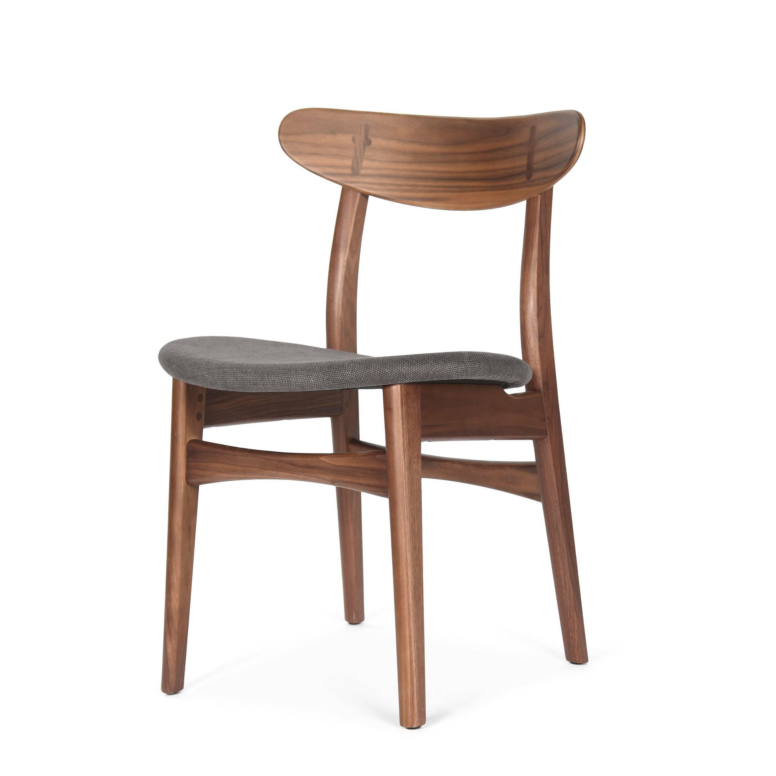 Деревянный стул Dutch 2 с мягким сиденьем от Cosmo купить в интернет-магазине дизайнерской мебели Cosmorelax