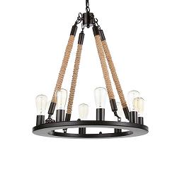 Подвесной светильник Bulb Candle 8 ламп диаметр 80