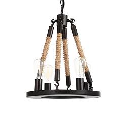 Подвесной светильник Bulb Candle 4 лампы диаметр 60
