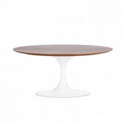 Кофейный стол Tulip Wood овальный