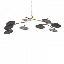 Подвесной светильник Branching Discs 9 ламп