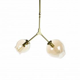 Подвесной светильник Branching Bubbles 2 лампы