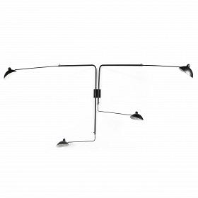 Настенный светильник Sconce Mouille 4 лампы 1