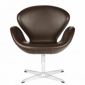 Кресло Swan кожаное