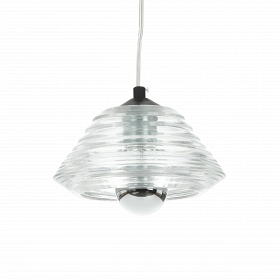 Подвесной светильник Pressed Glass Bowl