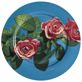 Тарелка Rose
