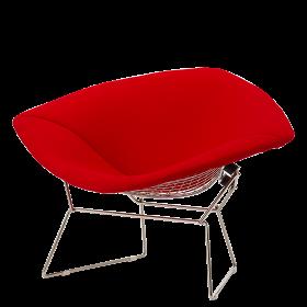 Кресло Diamond с обивкой