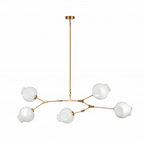 Подвесной светильник Branching Bubbles Summer 5 ламп высота 90