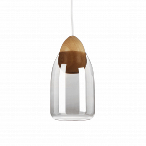 Подвесной светильник Wooden Ball яйцеобразный цоколь