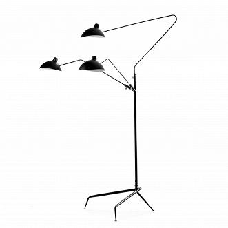 Напольный светильник Tripod Mouille 3 лампы