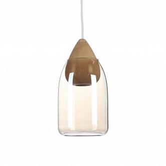 Подвесной светильник Wooden Ball конусообразный цоколь