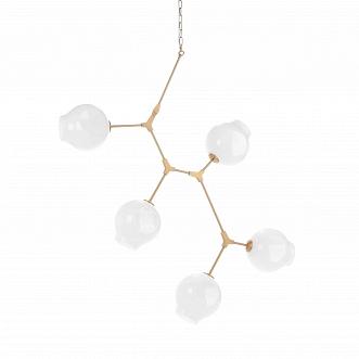 Подвесной светильник Branching Bubbles Summer 5 ламп высота 140