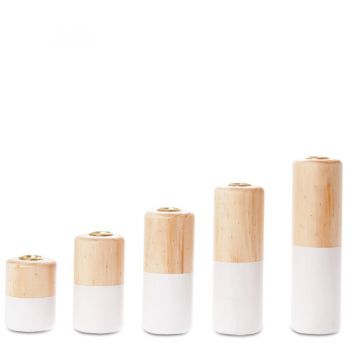 Набор подcвечников Living Pastels
