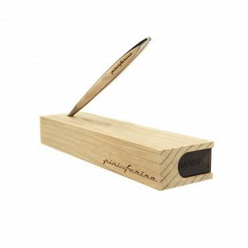 Вечный карандаш с подставкой-футляром NAPKIN FOREVER PININFARINA CAMBIANO CEDRO - Древесина кедра