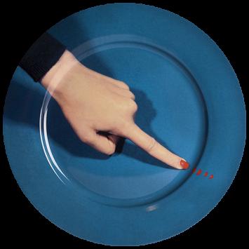 Тарелка Finger