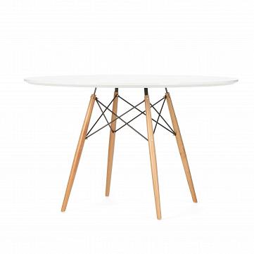 Обеденный стол Eames DSW диаметр 120