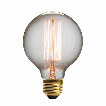 Винтажная лампа Эдисон Squirrel Cage (G95) 19 нитей