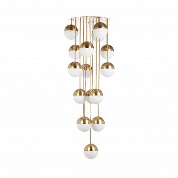 Потолочный светильник Italian Globe Cascading 16 ламп