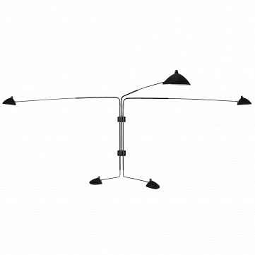 Настенный светильник Sconce Mouille 5 ламп