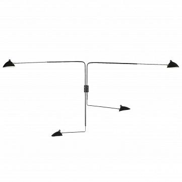 Настенный светильник Sconce Mouille 4 лампы 2