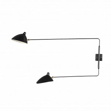Настенный светильник Sconce Mouille 2 лампы 3