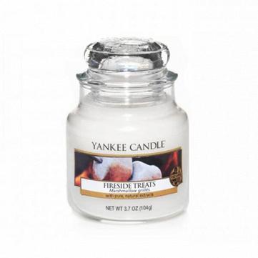 Свеча маленькая  в стеклянной банке  Fireside Treats