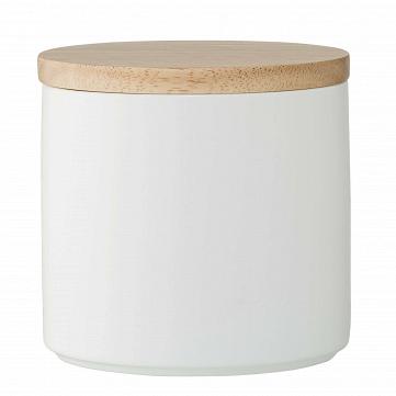 Емкость для хранения с крышкой Wood & White