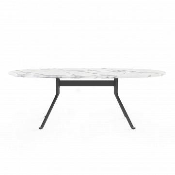 Обеденный стол Blink с каменной столешницей овальный