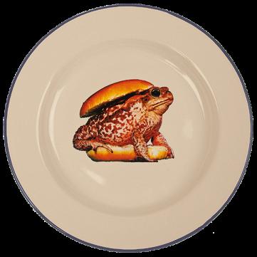 Тарелка Toad