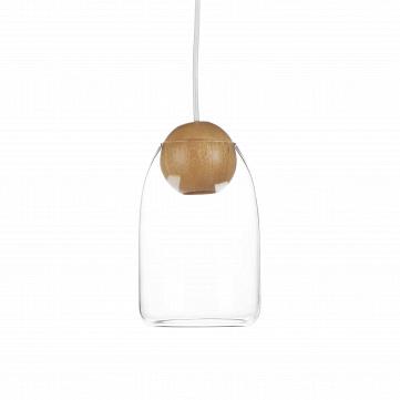 Подвесной светильник  Wooden Ball шарообразный цоколь