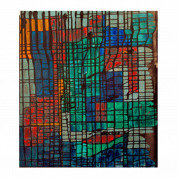 "Картина ""Tetris owned by Baron Munchausen"""