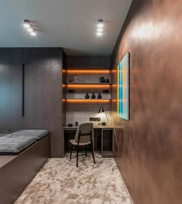 Проект «Спальня-кубик» при участии Cosmorelax