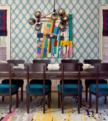 Назад в будущее: Memphis-дизайн в современном интерьере