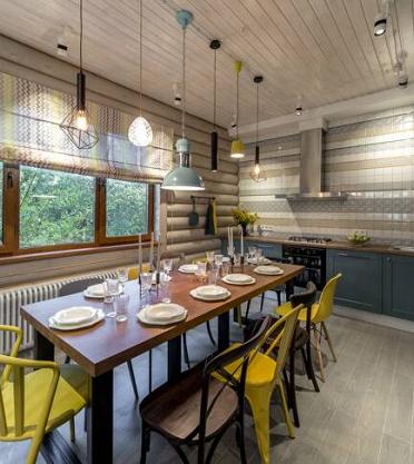 Проект «10 стульев в бирюзе с лимоном» при участии Cosmorelax