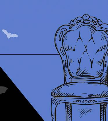 Готовимся к Хеллоуину: собираем интерьер современного графа Дракулы